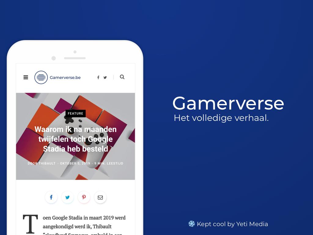 gamerverse mockup shot smartphone
